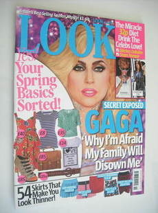 Look magazine - 12 April 2010 - Lady Gaga cover