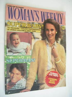 <!--1983-07-09-->Woman's Weekly magazine (9 July 1983 - British Edition)