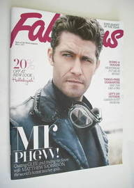 <!--2011-05-01-->Fabulous magazine - Matthew Morrison cover (1 May 2011)