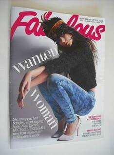 Fabulous magazine - Michelle Keegan cover (24 April 2011)