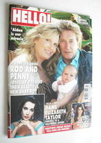 <!--2011-04-04-->Hello! magazine - Rod Stewart and Penny Lancaster cover (4
