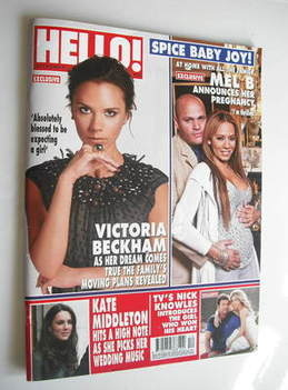 <!--2011-03-28-->Hello! magazine - Victoria Beckham and Mel B cover (28 Mar