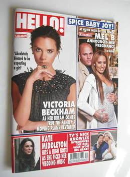 <!--2011-03-28-->Hello! magazine - Victoria Beckham and Mel B cover (28 Mar