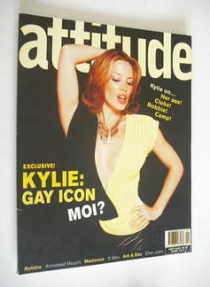 <!--2000-09-->Attitude magazine - Kylie Minogue cover (September 2000)