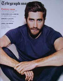<!--2011-04-02-->Telegraph magazine - Jake Gyllenhaal cover (2 April 2011)