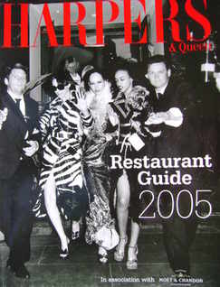 Harpers & Queen supplement - Restaurant Guide 2005
