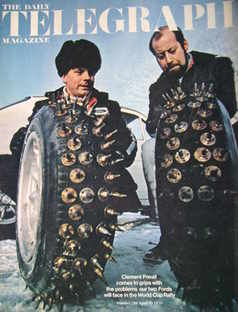 <!--1970-04-10-->The Daily Telegraph magazine - Clement Freud cover (10 Apr
