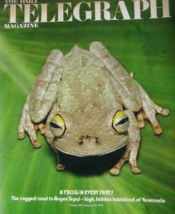 <!--1976-02-27-->The Daily Telegraph magazine - Frog cover (27 February 197
