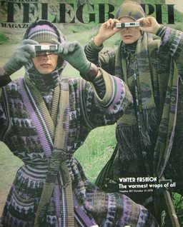 The Daily Telegraph magazine - Winter Fashion cover (10 October 1975)