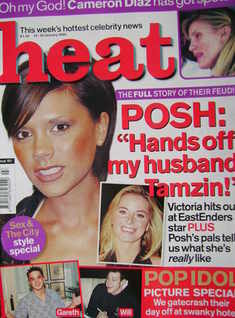 Heat magazine - Victoria Beckham cover (19-25 January 2002 - Issue 151)