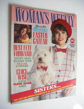 <!--1986-03-22-->Woman's Weekly magazine (22 March 1986 - British Edition)