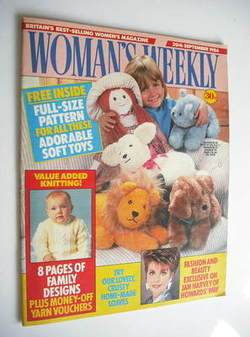 <!--1986-09-20-->Woman's Weekly magazine (20 September 1986 - British Editi