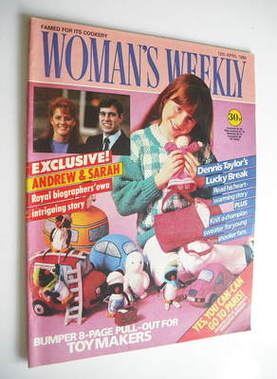 <!--1986-04-12-->Woman's Weekly magazine (12 April 1986 - British Edition)