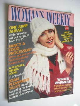<!--1986-01-18-->Woman's Weekly magazine (18 January 1986 - British Edition