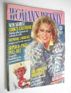 <!--1986-01-04-->Woman's Weekly magazine (4 January 1986 - Stephanie Lawren