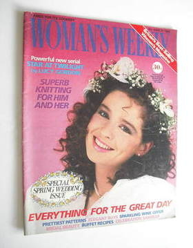 <!--1986-03-08-->Woman's Weekly magazine (8 March 1986 - British Edition)