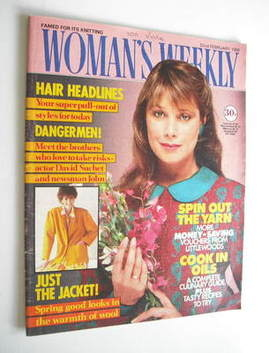 <!--1986-02-22-->Woman's Weekly magazine (22 February 1986 - British Editio