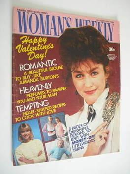 <!--1986-02-08-->Woman's Weekly magazine (8 February 1986 - Amanda Burton c