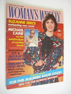 <!--1986-02-01-->Woman's Weekly magazine (1 February 1986 - British Edition
