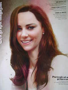 <!--2011-04-09-->Telegraph magazine - Kate Middleton cover (9 April 2011)