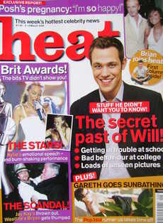 Heat magazine - Will Young cover (2-8 March 2002 - Issue 157)