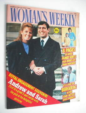 <!--1986-04-05-->Woman's Weekly magazine (5 April 1986 - Prince Andrew and