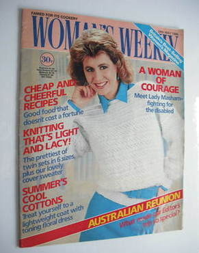<!--1986-05-24-->Woman's Weekly magazine (24 May 1986 - British Edition)
