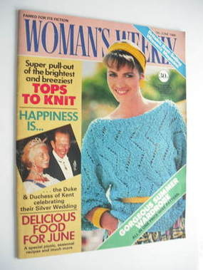 <!--1986-06-07-->Woman's Weekly magazine (7 June 1986 - British Edition)