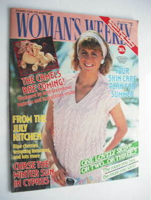 <!--1986-07-05-->Woman's Weekly magazine (5 July 1986 - British Edition)