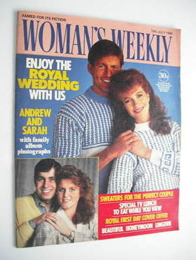 <!--1986-07-19-->Woman's Weekly magazine (19 July 1986 - British Edition)