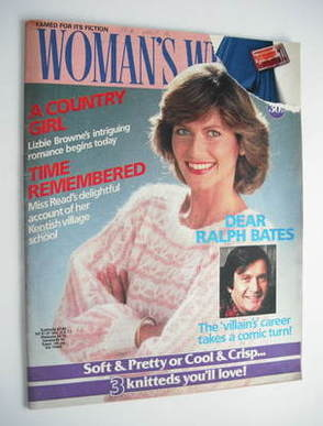 <!--1986-07-26-->Woman's Weekly magazine (26 July 1986 - British Edition)