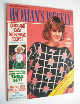 <!--1986-08-16-->Woman's Weekly magazine (16 August 1986 - British Edition)