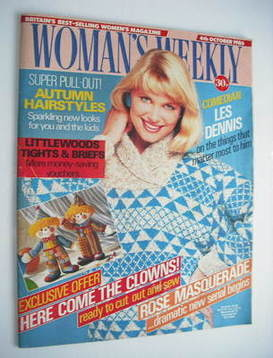 <!--1986-10-04-->Woman's Weekly magazine (4 October 1986 - British Edition)