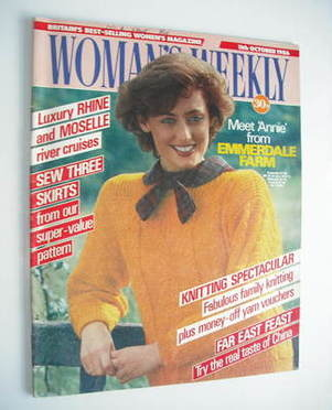<!--1986-10-11-->Woman's Weekly magazine (11 October 1986 - British Edition