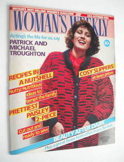 <!--1986-10-25-->Woman's Weekly magazine (25 October 1986 - British Edition