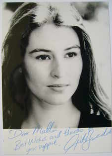 Helen Baxendale autograph (hand-signed photograph, dedicated)