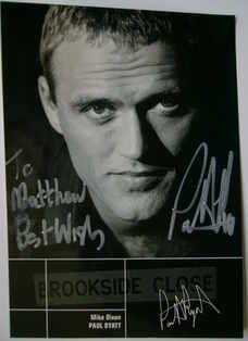 Paul Byatt autograph