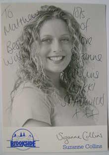 Suzanne Collins autograph