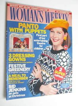 <!--1986-12-13-->Woman's Weekly magazine (13 December 1986 - British Editio