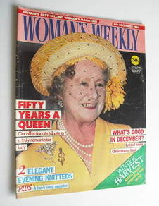 <!--1986-12-06-->Woman's Weekly magazine (6 December 1986 - The Queen Mothe