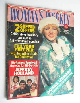 <!--1986-11-15-->Woman's Weekly magazine (15 November 1986 - British Editio