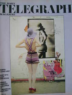 <!--1971-04-16-->The Daily Telegraph magazine - Shorts cover (16 April 1971