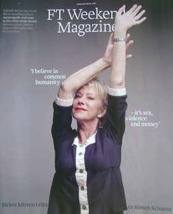 FT Weekend magazine - Helen Mirren cover (26/27 February 2011)