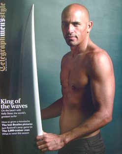 Telegraph Style magazine - Kelly Slater cover (Spring/Summer 2011)