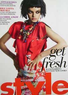 <!--2008-11-09-->Style magazine - Get Fresh cover (9 November 2008)
