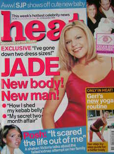 <!--2002-11-16-->Heat magazine - Jade Goody cover (16-22 November 2002 - Is