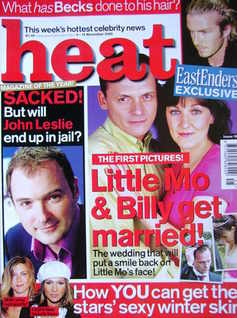 <!--2002-11-09-->Heat magazine - Little Mo and Billy Get Married! cover (9-