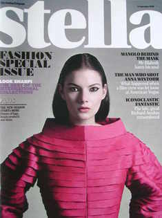 <!--2009-09-06-->Stella magazine - Fashion Special Issue (6 September 2009)