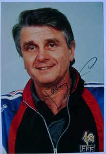 Aime Jacquet autograph