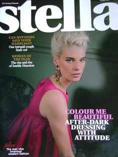 <!--2007-07-15-->Stella magazine - Querelle Jansen cover (15 July 2007)